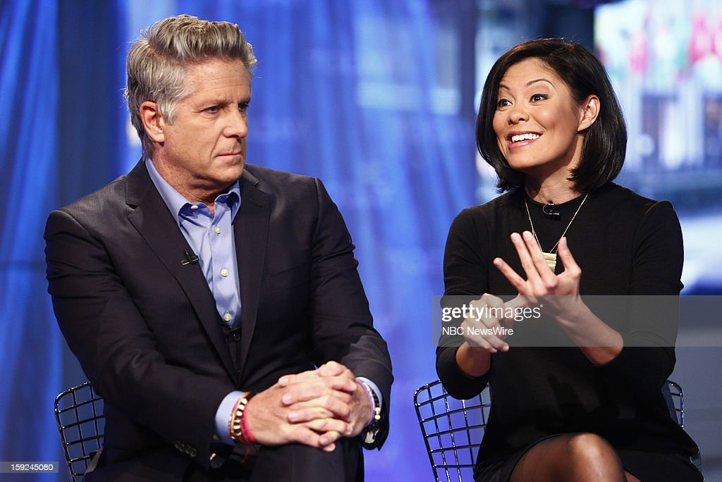 Donnie Deutsch and Alex Wagner appear on NBC News' 'Today' show --