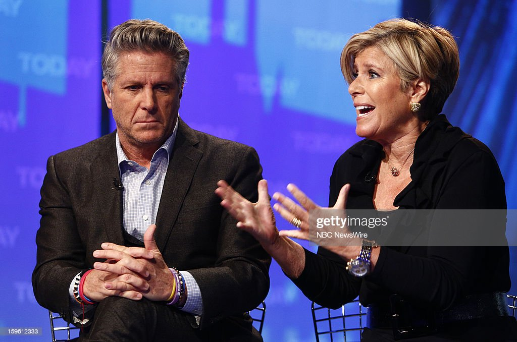 Donnie Deutsch and Suze Orman appear on NBC News' 'Today' show --