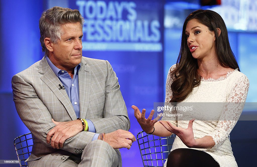 Donny Deutsch and Abby Huntsman appear on NBC News' 'Today' show --