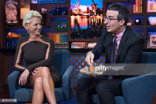 Dorinda Medley and John Oliver