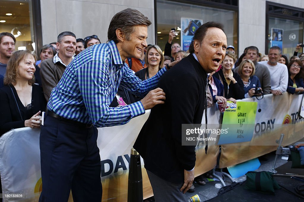 Dr. Mehmet Oz and Billy Crystal appear on NBC News' 'Today' show --