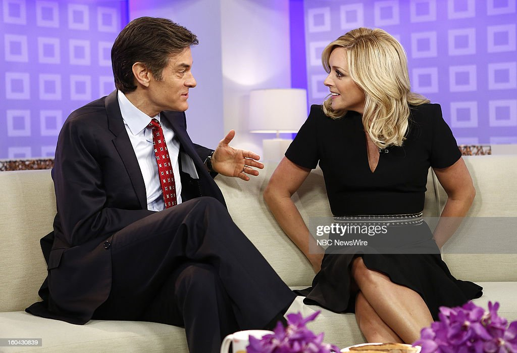 Dr. Mehmet Oz and Jane Krakowski appear on NBC News' 'Today' show --