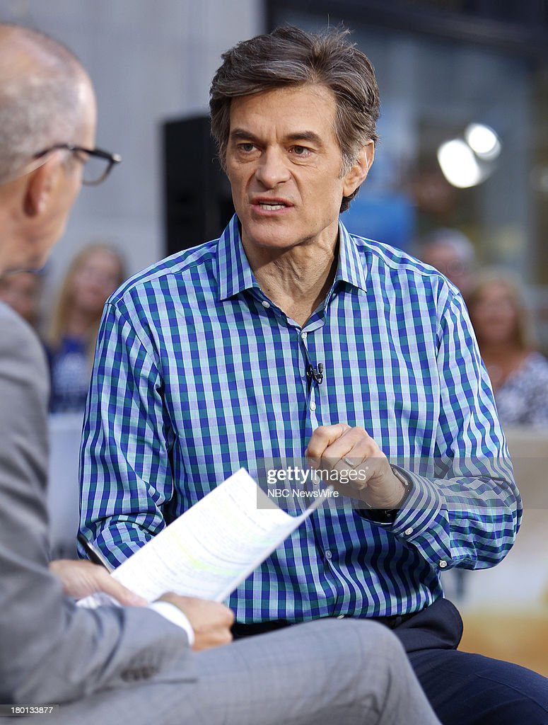 Dr. Mehmet Oz appears on NBC News' 'Today' show --