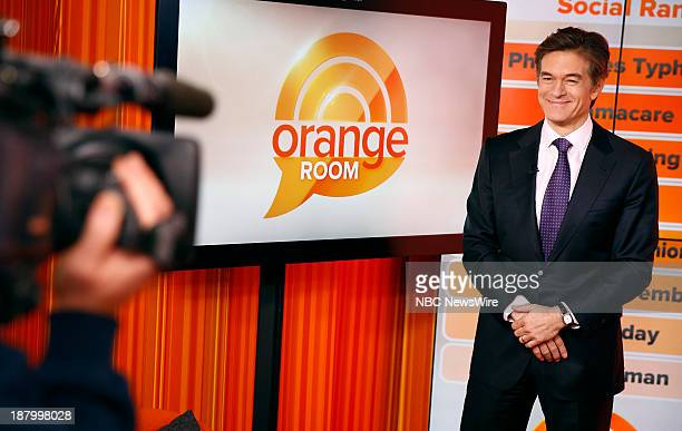 Dr Mehmet Oz appears on NBC News' 'Today' show