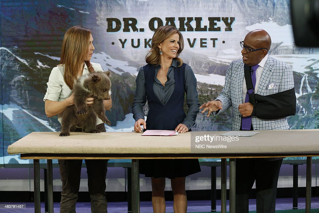 Dr. Oakley, Natalie Morales, Al Roker appear on NBC News' 'Today' show --