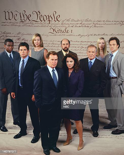 Dule Hill as Charlie Young Rob Lowe as Sam Seaborn Allison Janney as Claudia Jean 'CJ' Cregg Martin Sheen as President Josiah 'Jed' Bartlet Stockard...
