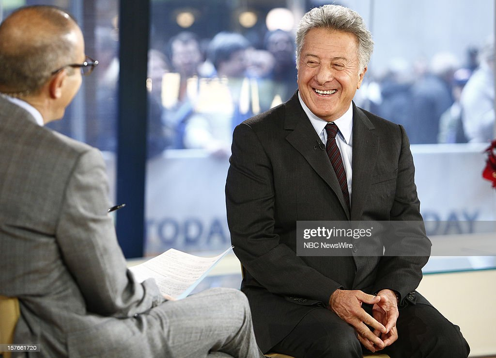 Dustin Hoffman appears on NBC News' 'Today' show --