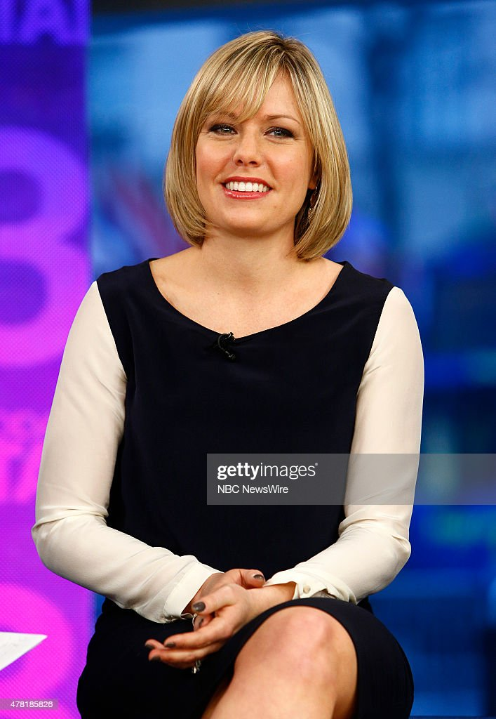 Dylan Dreyer appears on NBC News' 'Today' show --