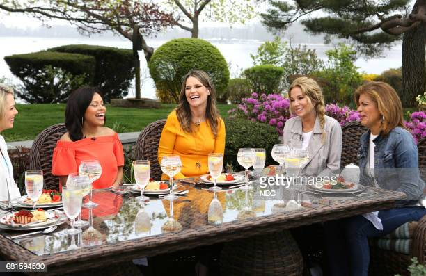 Dylan Dreyer Sheinelle Jones Savannah Guthire Kathie Lee Gifford and Hoda Kotb on Thursday April 27 2017