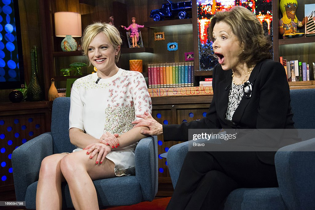 Elisabeth Moss and Jessica Walter -- Photo by: Charles Sykes/Bravo/NBCU Photo Bank via Getty Images