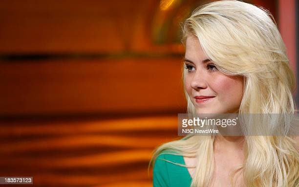 Elizabeth Smart appears on NBC News' 'Today' show