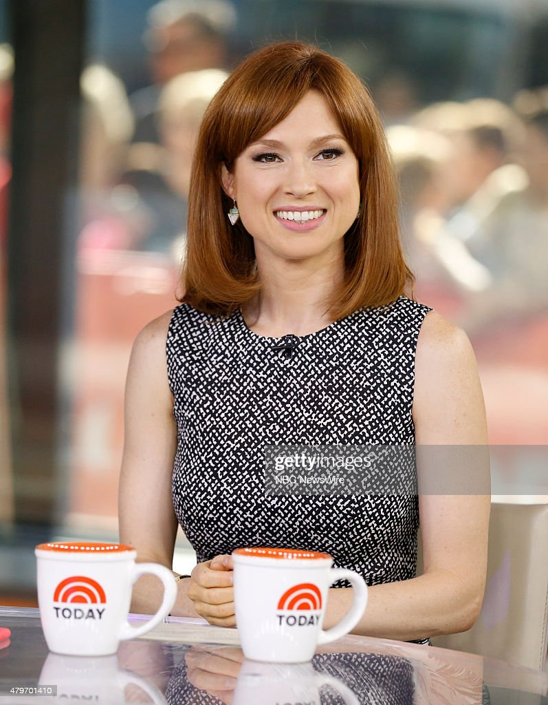 Ellie Kemper appears on NBC News' 'Today' show