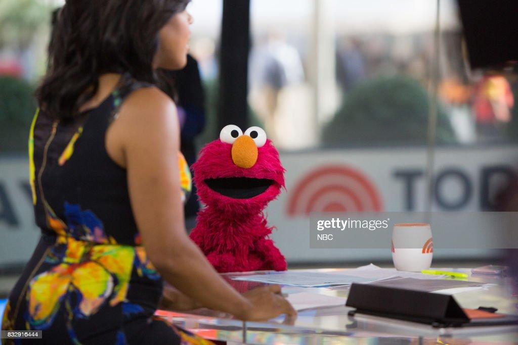 Elmo on Wednesday, August 16, 2017 --