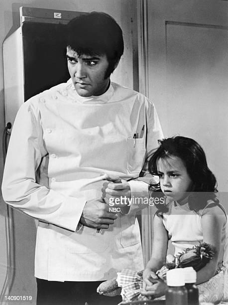 Elvis Presley as Dr John Carpenter Lorena Kirk as Amanda Photo by NBCU Photo Bank