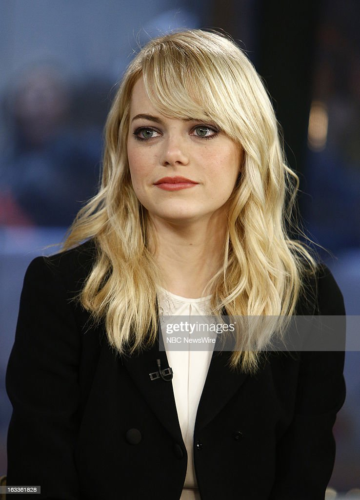 Emma Stone appears on NBC News' 'Today' show --