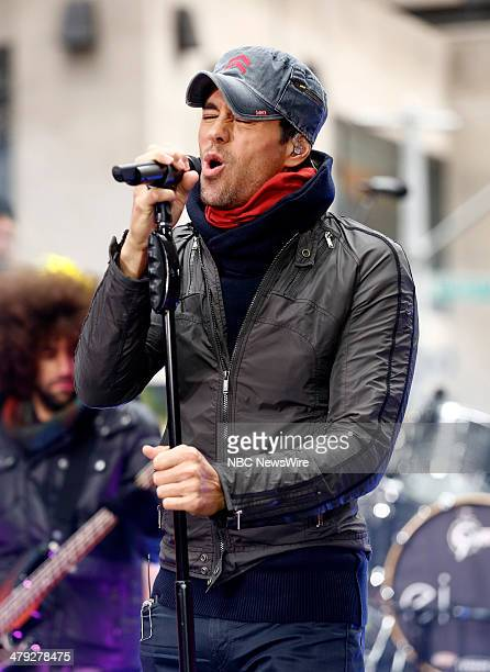 Enrique Iglesias appears on NBC News' 'Today' show