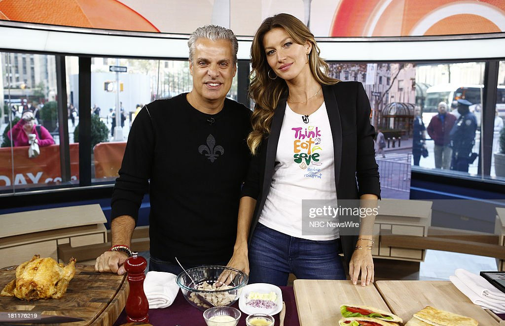 Eric Ripert and Gisele Bundchen appear on NBC News' 'Today' show --