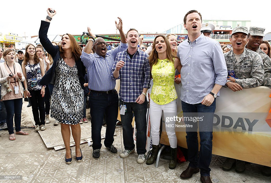Erica Hill, Al Roker, Natalie Morales and Willie Geist appear on NBC News' 'Today' show --