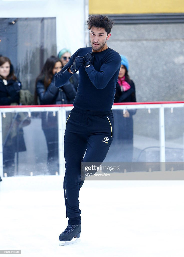 Evan Lysacek appears on NBC News' 'Today' show --