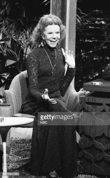 Evangelist Katheryn Kuhlman during an interview on October 15th 1972