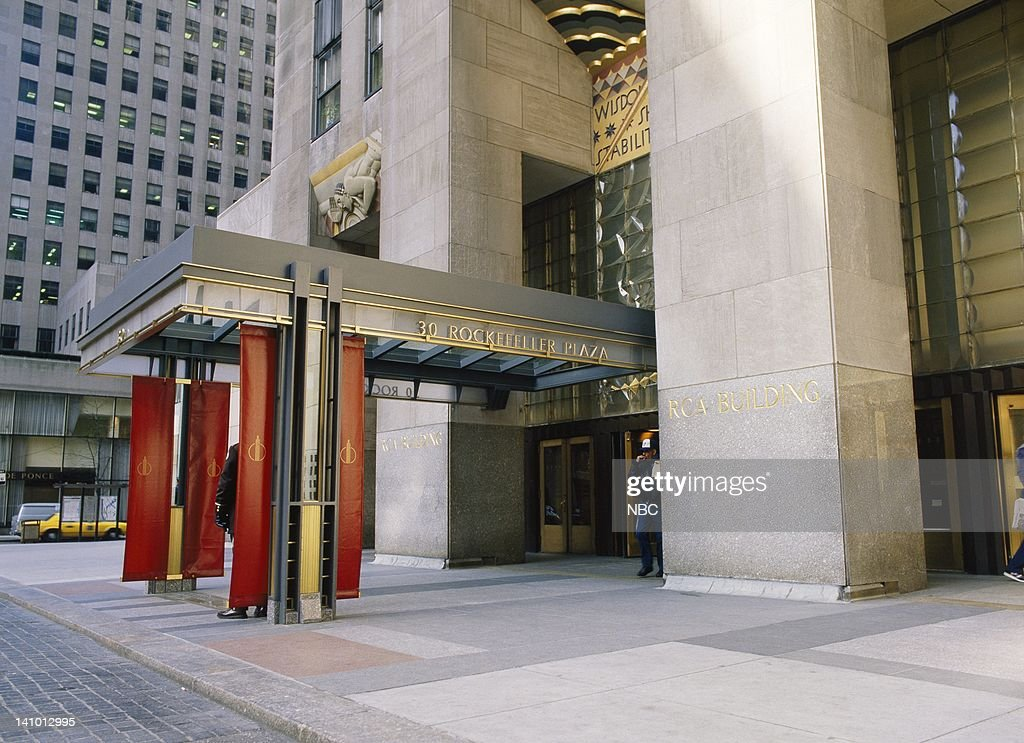 Exterior of the RCA building and home to NBC headquarters located at 30 Rockefeller Plaza in New York, NY in 1988 -- Photo by: Reggie Lewis/NBC/NBCU Photo Bank