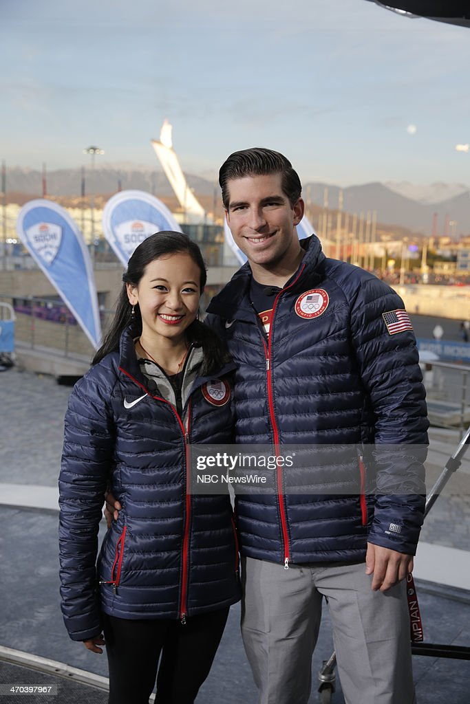 <a gi-track='captionPersonalityLinkClicked' href=/galleries/search?phrase=Felicia+Zhang&family=editorial&specificpeople=7338307 ng-click='$event.stopPropagation()'>Felicia Zhang</a>, <a gi-track='captionPersonalityLinkClicked' href=/galleries/search?phrase=Nathan+Bartholomay&family=editorial&specificpeople=9726215 ng-click='$event.stopPropagation()'>Nathan Bartholomay</a> from the 2014 Olympics in Socci --