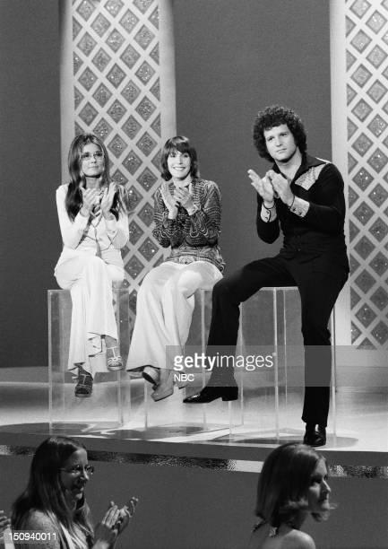 Feminist/activist Gloria Steinem host Helen Reddy comedian/actor Albert Brooks
