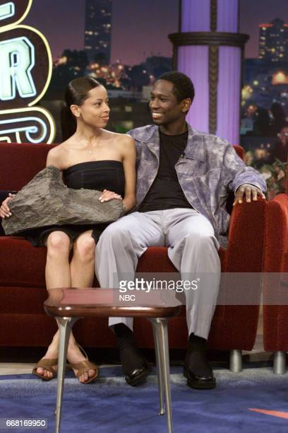 Fiancee Monica Askew with Actor Guy Torry on June 6th 2001