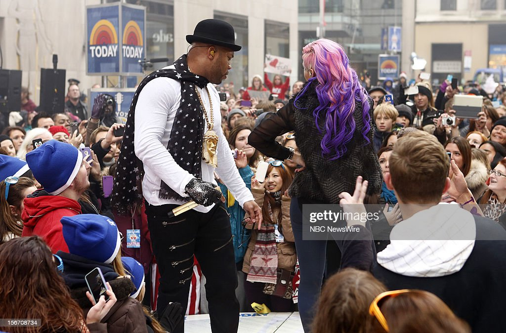 Flo Rida appears on NBC News' 'Today' show --