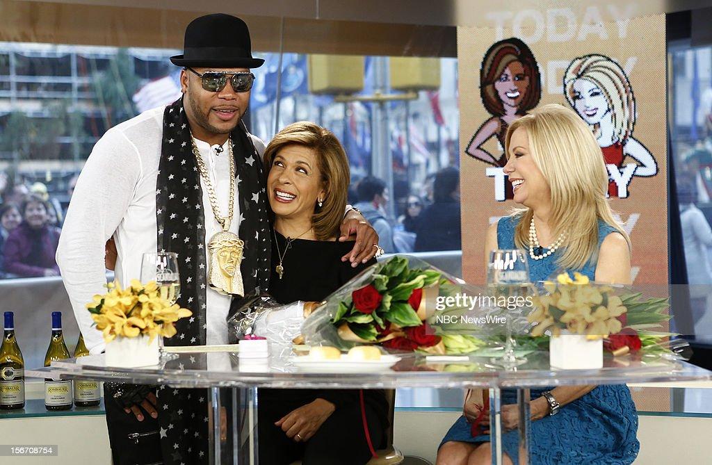 Flo Rida, Hoda Kotb and Kathie Lee Gifford appear on NBC News' 'Today' show --