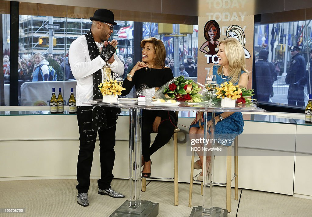 Flo Rida, Hoda Kotb and Kathie Lee Gifford appear on NBC News' 'Today' show --