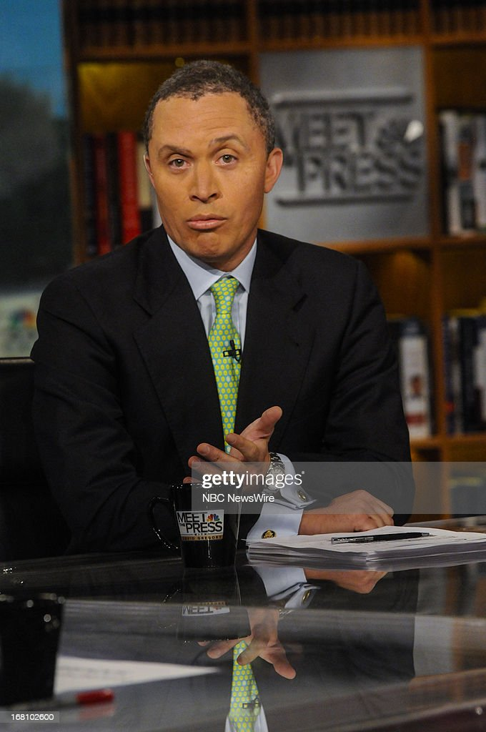 – Fmr. Rep. Harold Ford Jr. (D-TN) appears on 'Meet the Press' in Washington, D.C., Sunday, May 5, 2013.