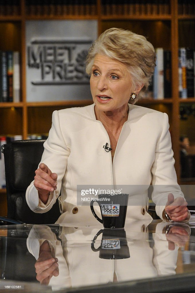 – Fmr. Rep. Jane Harman (D-CA) appears on 'Meet the Press' in Washington, D.C., Sunday, May 5, 2013.