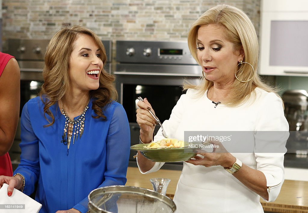 Frances Largeman-Roth and Kathie Lee Gifford appear on NBC News' 'Today' show --