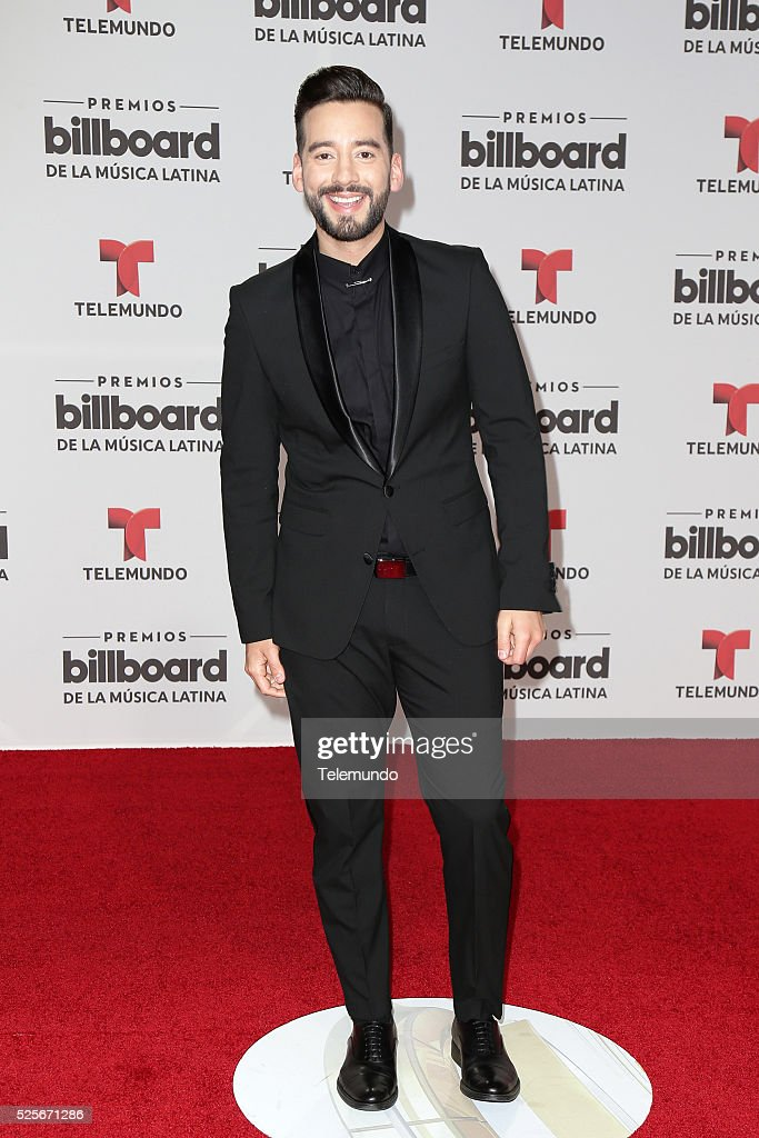 Francisco Caceres arrives at the 2016 Billboard Latin Music Awards at the BankUnited Center in Miami, Florida on April 28, 2016 --