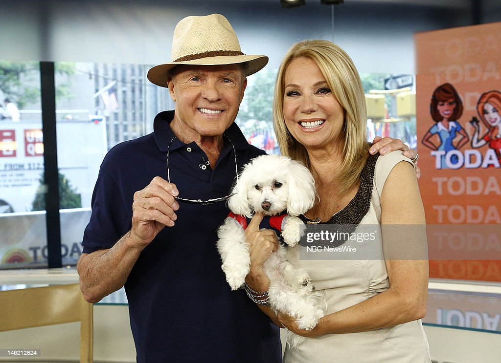 Frank Gifford and Kathie Lee Gifford appear on NBC News' 'Today' show --