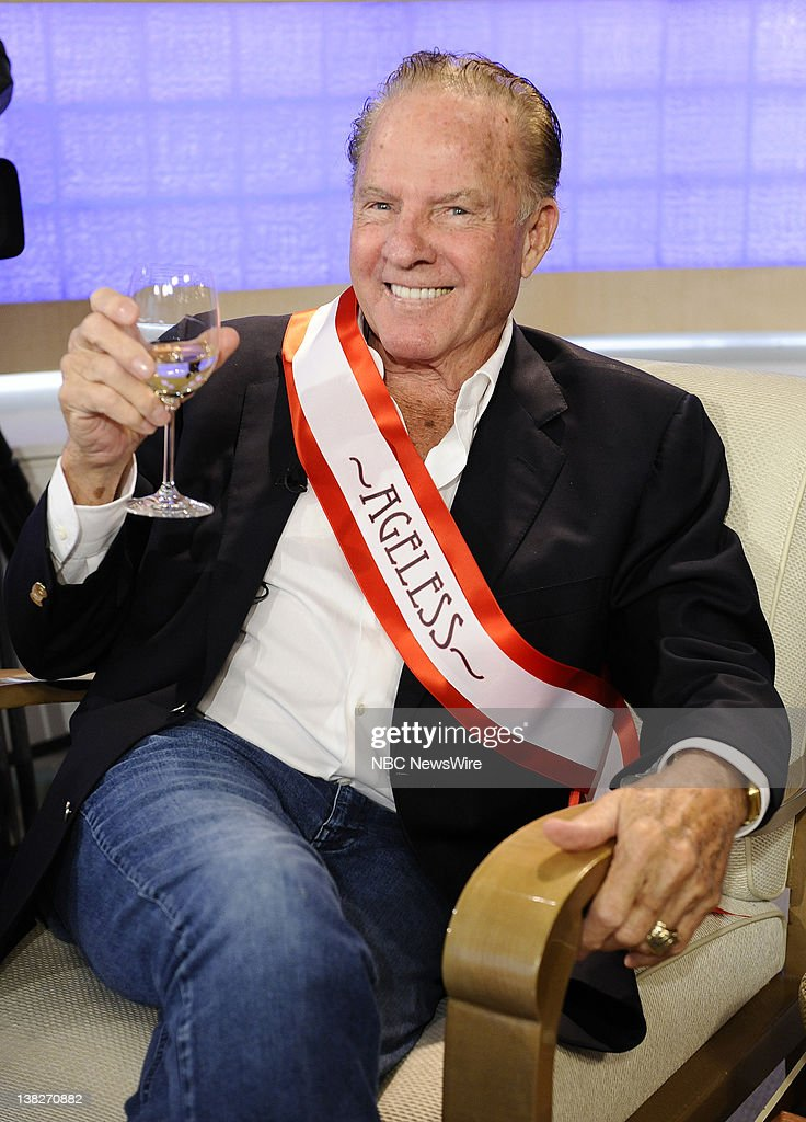 Frank Gifford appears on NBC News' 'Today' show