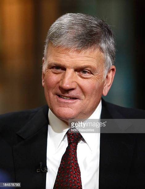 Franklin Graham appears on NBC News' 'Today' show