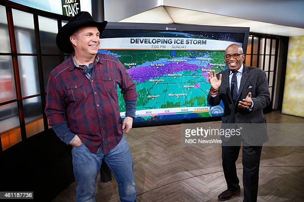 Garth Brooks and Al Roker appear on NBC News' 'Today' show