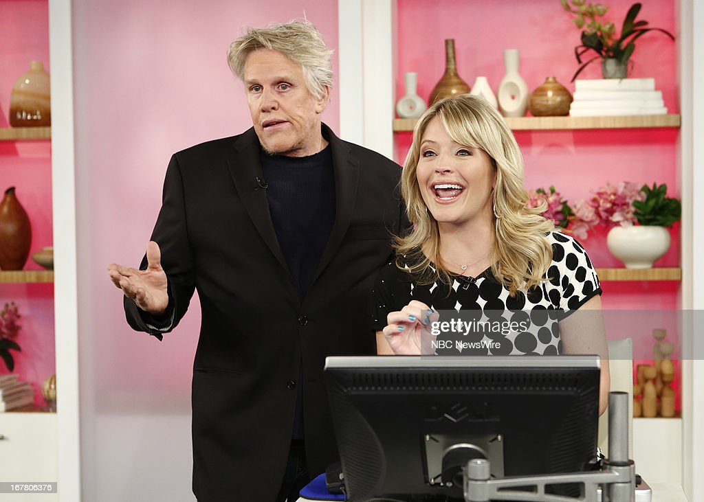 <a gi-track='captionPersonalityLinkClicked' href=/galleries/search?phrase=Gary+Busey&family=editorial&specificpeople=206115 ng-click='$event.stopPropagation()'>Gary Busey</a> and Sara Haines appear on NBC News' 'Today' show --