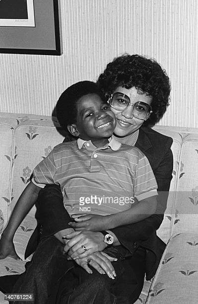 Gary Coleman as Arnold Jackson with his mother Sue Coleman Photo by Frank Carroll/NBC/NBCU Photo Bank