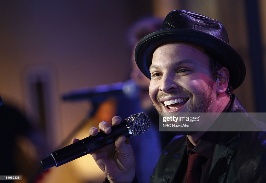 Gavin DeGraw appears on NBC News' 'Today' show --