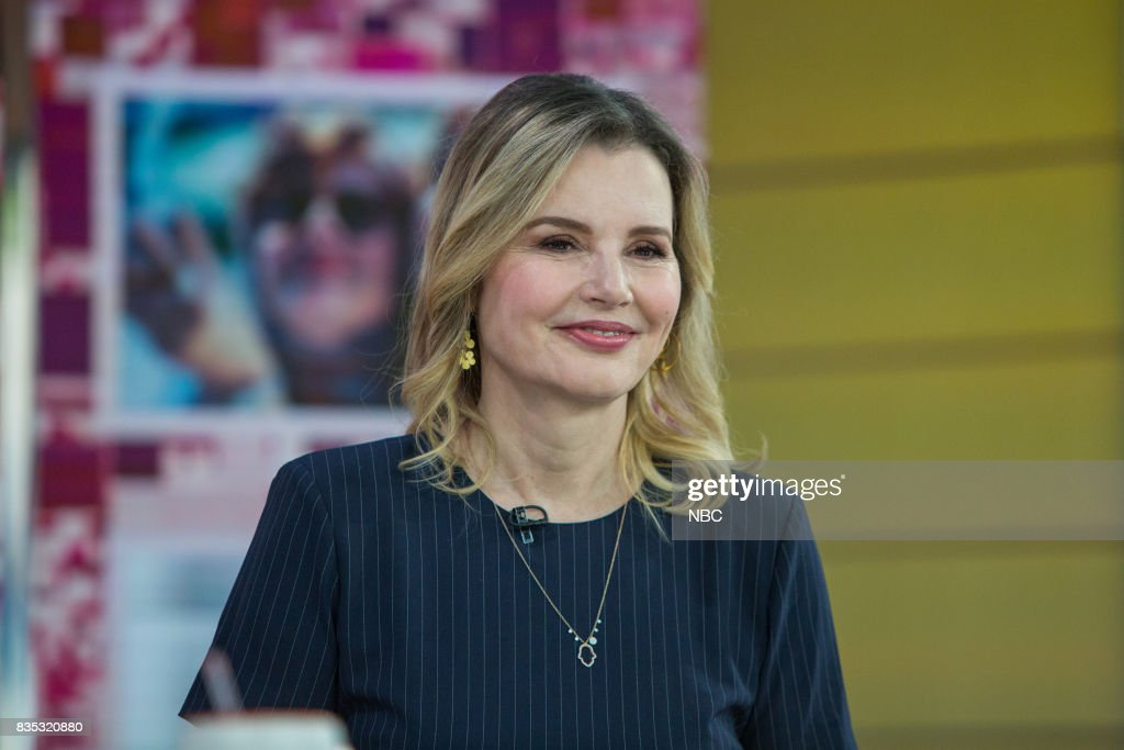 Geena Davis on Friday, August 18, 2017 --