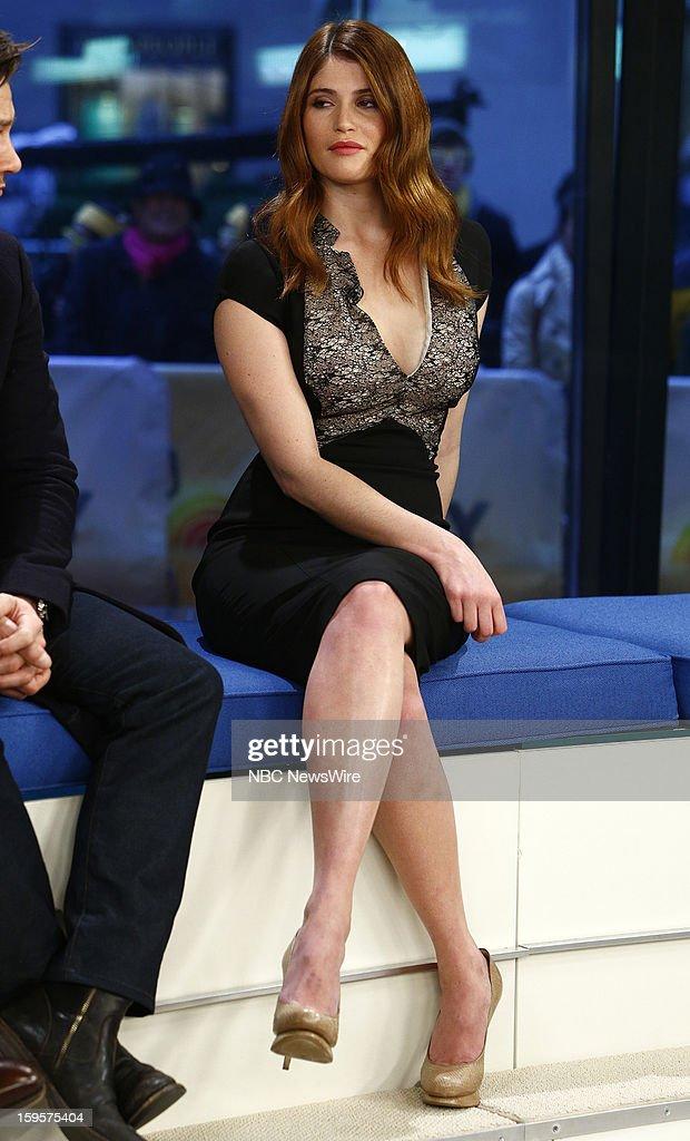 Gemma Arterton appears on NBC News' 'Today' show --