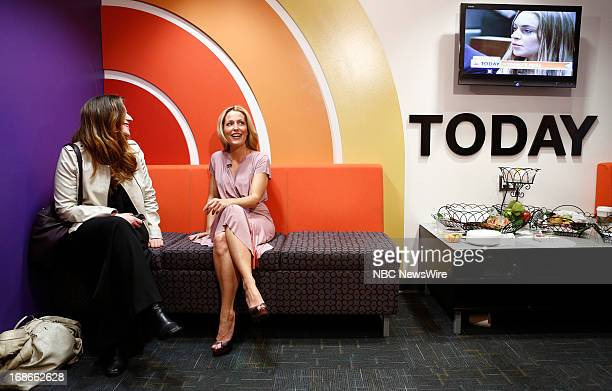 Gillian Anderson appears on NBC News' 'Today' show