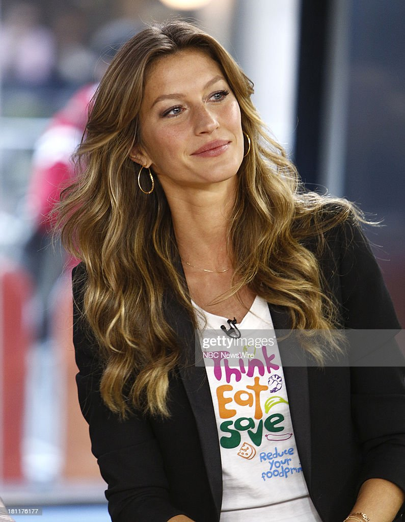 Gisele Bundchen appears on NBC News' 'Today' show --