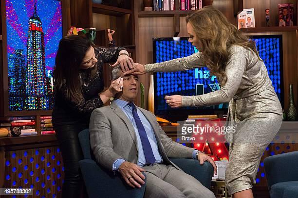 Gloria Estefan Andy Cohen and Leah Remini