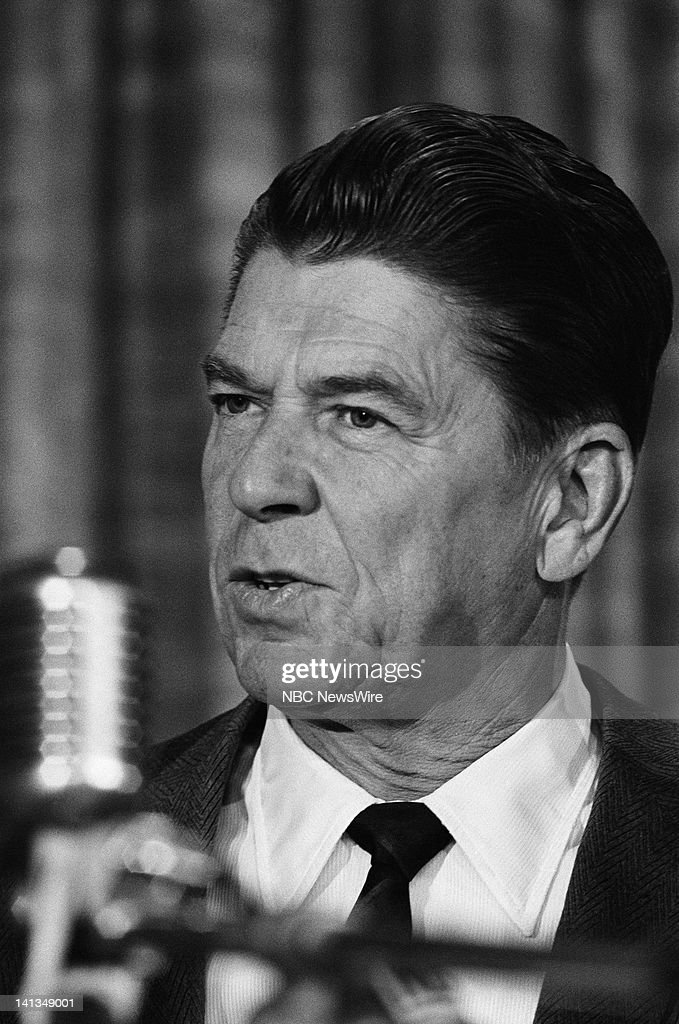 Governor-elect Ronald Reagan on Election Day November 8, 1966 -- Photo by: Frank Carroll/NBC... Show more - pictured-governorelect-ronald-reagan-on-election-day-november-8-1966-picture-id141349001