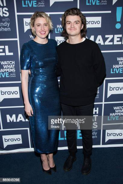 Greta Gerwig and Joe Keery
