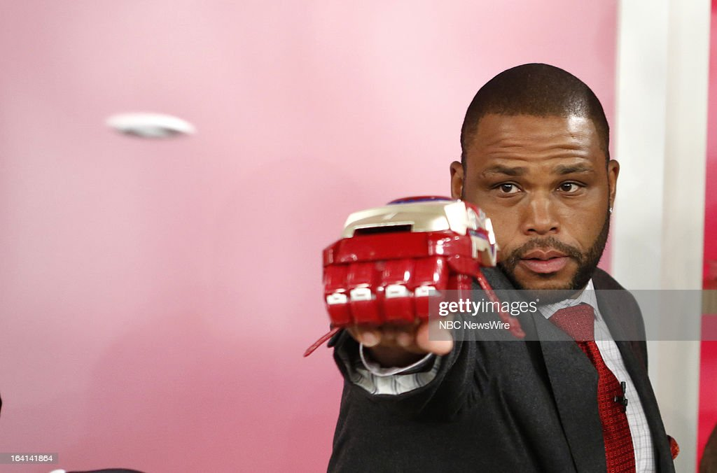 Guest host Anthony Anderson appears on NBC News' 'Today' show on March 20, 2013 --